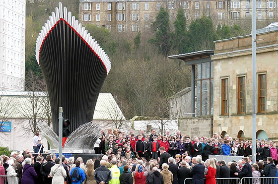 'LAUNCH' For Town's Ship-Shape Sculpture